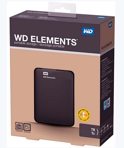 Western Digital Elements Portable 500G
